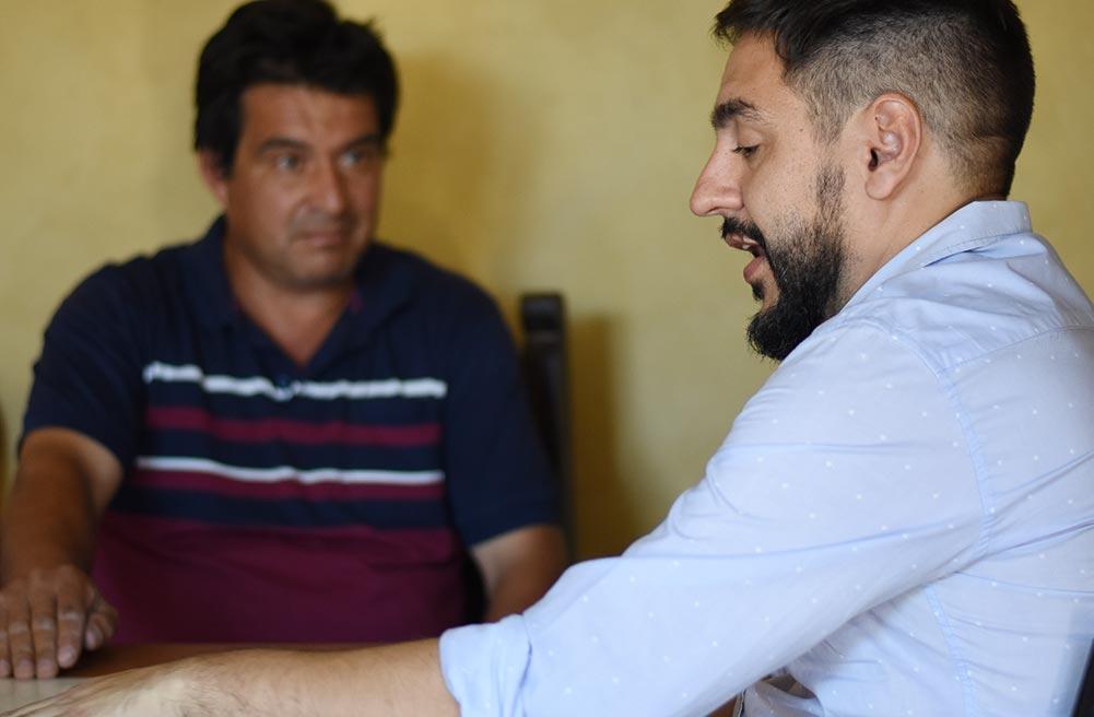 """Visita a la planta de reciclaje de Jorge llamada """"Chaco Recicladora"""" en Nuestro Hogar Tres"""