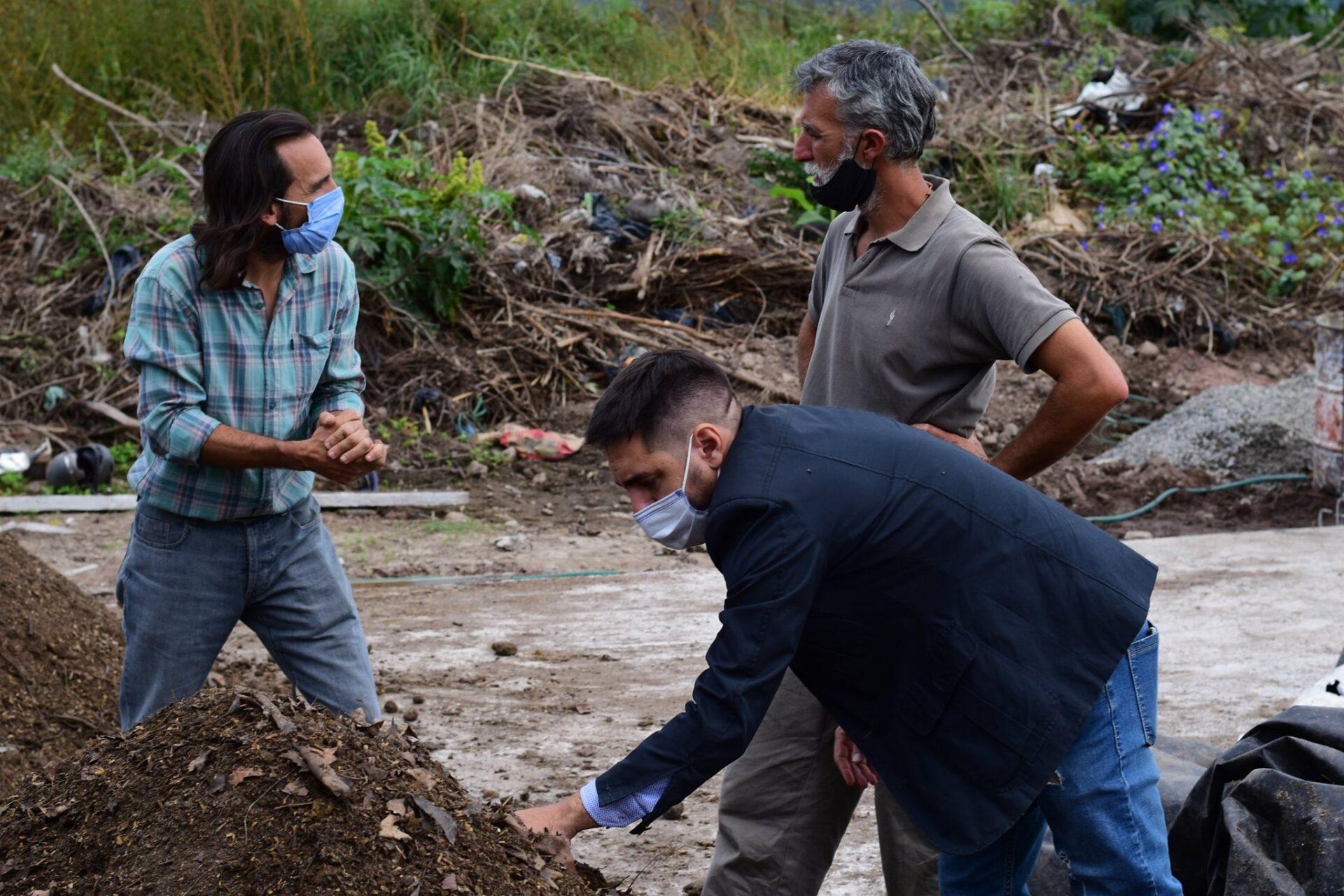 Visitamos la cooperativa de trabajo Proyecto Hormiga Unquillo